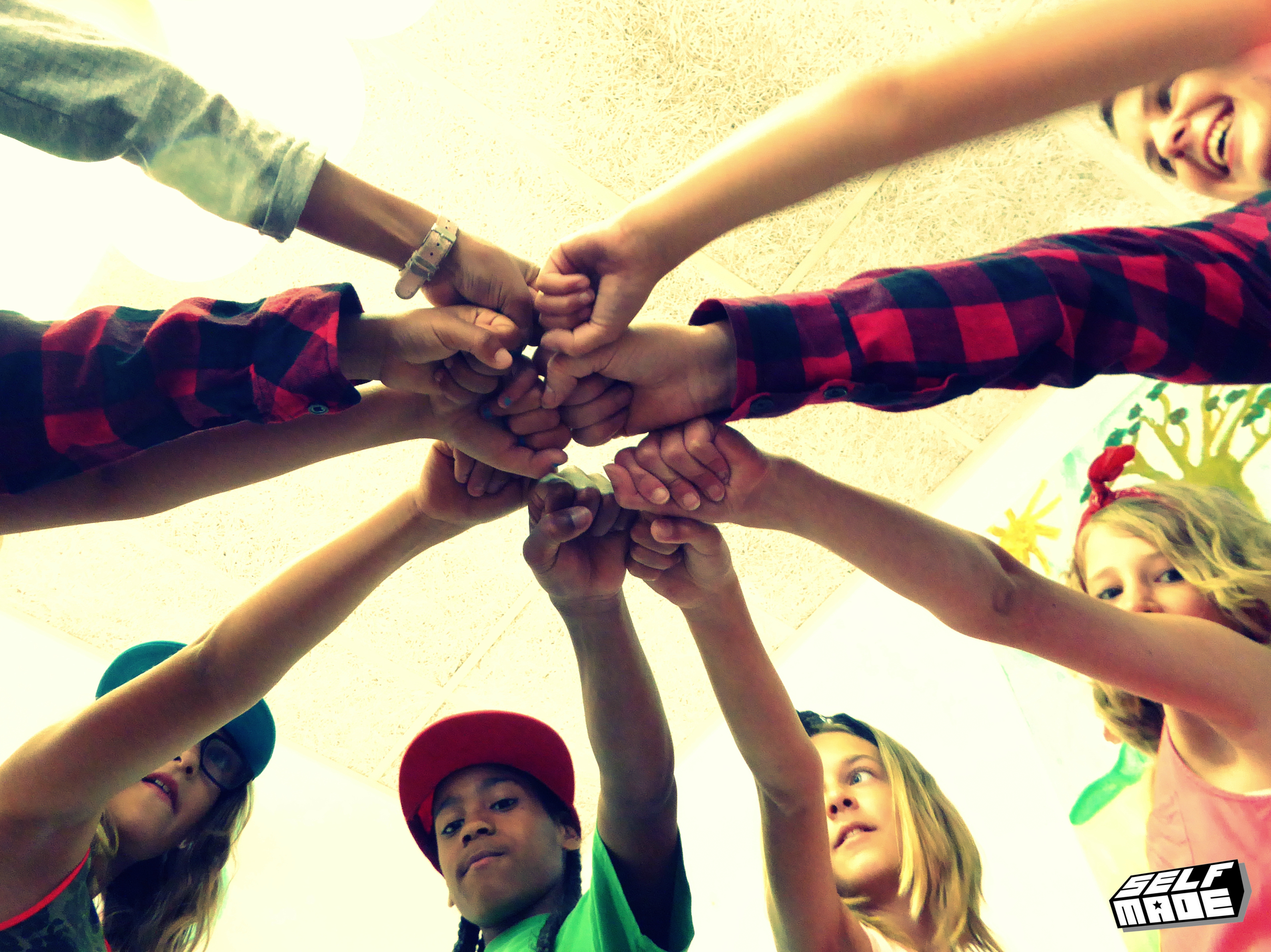 Kinderen samen groep