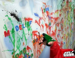 Spray Paint Graffiti kleuters