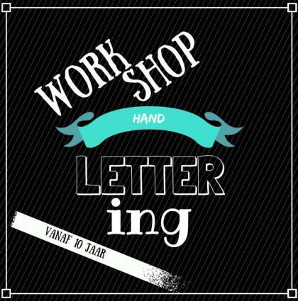 Nieuw: Workshop Handlettering